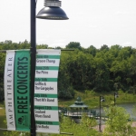 Chesterfield Amphitheater Pole Banner