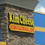 KimCheese - channel letter sign