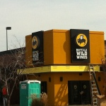 bww channel letter sign