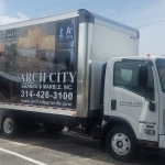 Arch City Box Truck Wraps