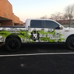 Deaf Dog Ink Truck Wrap