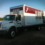 French Gerleman Box Truck Wrap