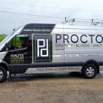 Proctor Drapery Vehicle Wrap