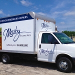 Mosby Box Truck Graphics