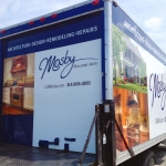 Mosby Box Truck Wrap