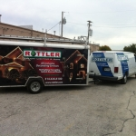 Rottler Holiday Vehicle Wrap